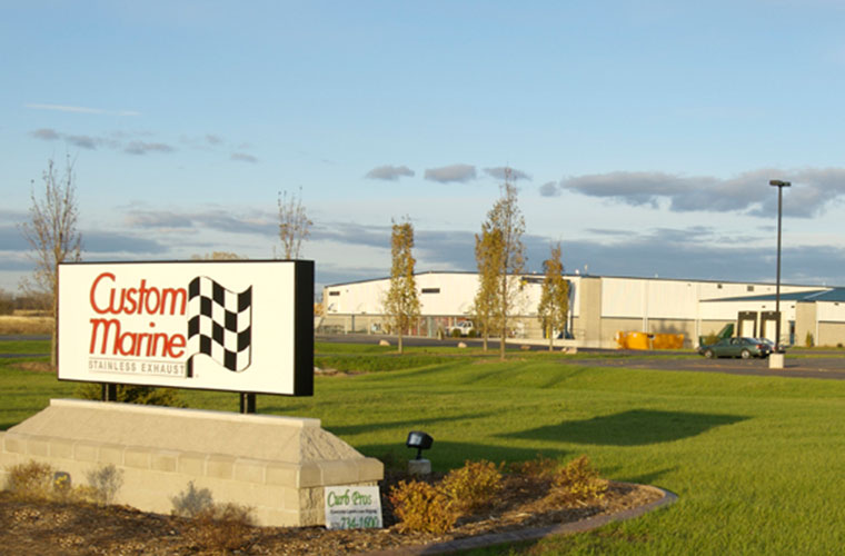 Custom Marine / CMI Industrial location in Neenah, WI
